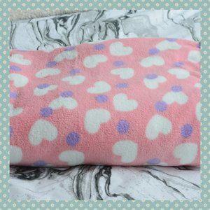 NWOT Pink Fleece Throw Blanket